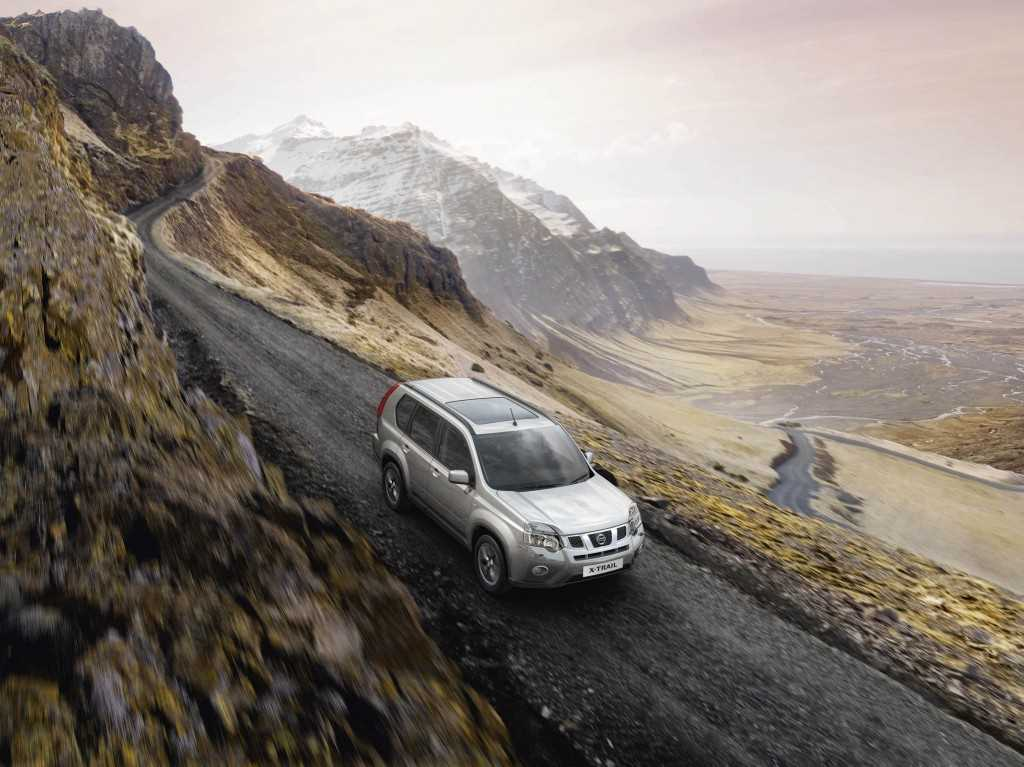 The Nissan X-Trail available at West Way Nissan