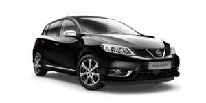 Pulsar Acenta From £169 per month Key Spec •16″ Alloy wheels •Dual climate control •Forward Emergency Braking