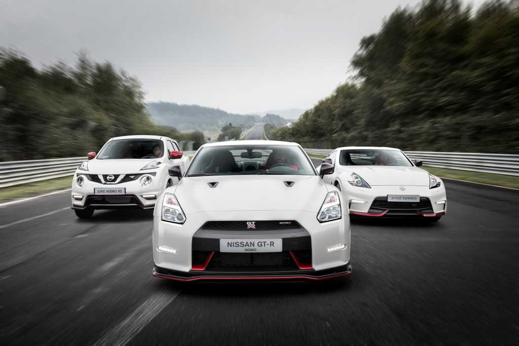 Nissan Nismo Juke, 370Z and GT-R