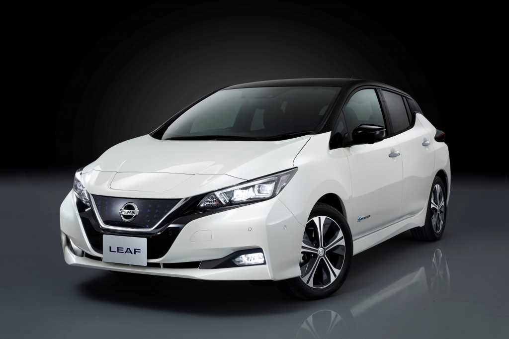The New Nissan LEAF exterior