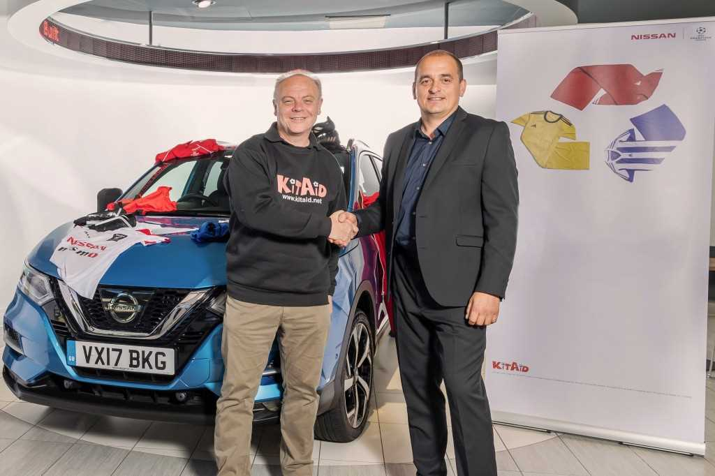 Calling Out For Kit - Nissan's Drive To Boost Football Charity