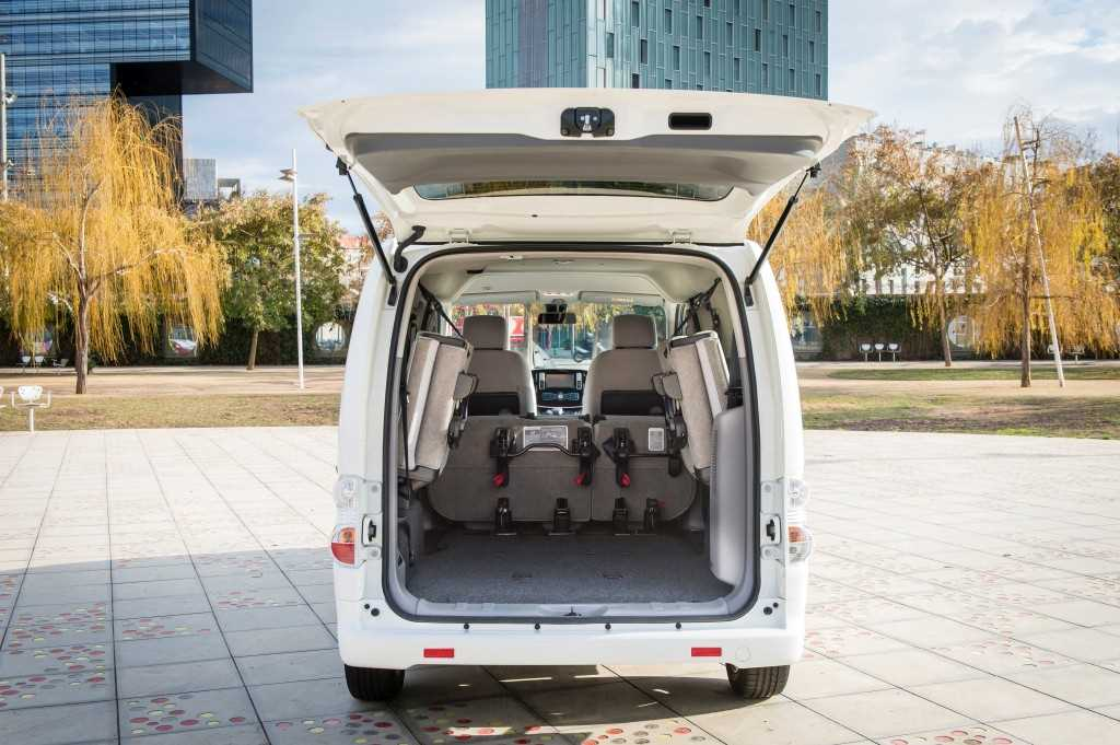 Longer Range e-NV200 Boot
