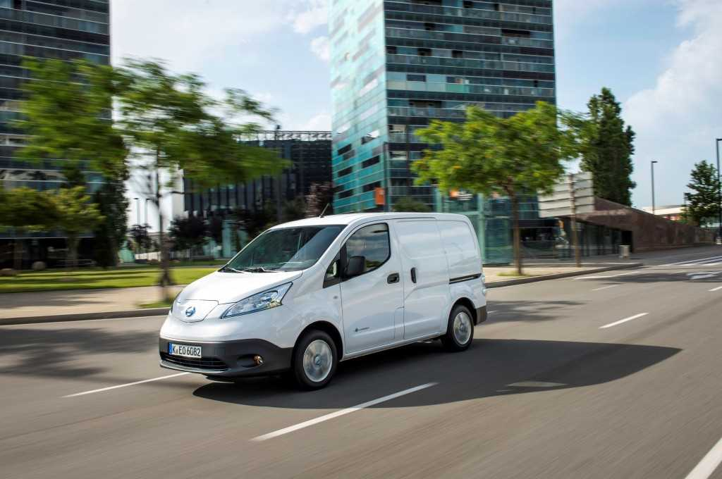 Longer Range e-NV200