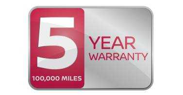 5 year / 100000 Mile warranty across the whole Nissan LCV Range