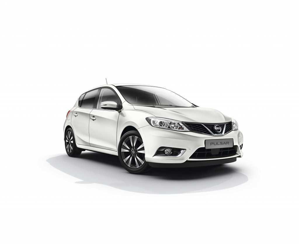 The brand new Nissan Pulsar hatchback available at West Way Nissan