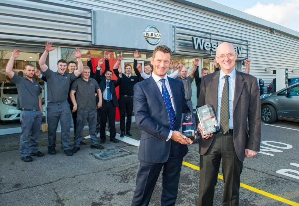 West Way Win Nissan Global Awards