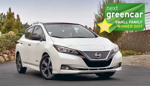Awards2017-SmallFamily-NissanLEAF