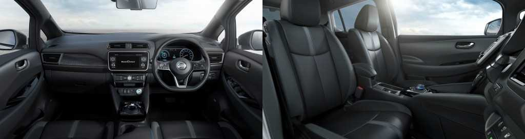 The New Nissan LEAF Interior