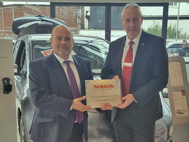 West Way Nissan Birmingham Nissan dealership crowned the car brand's sales retailer of the year.