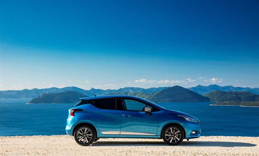 All New Nissan Micra - Blue