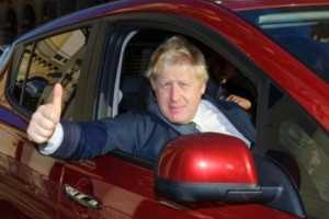 Even the Mayor of London Boris Johnson loves the Nissan LEAF - 2015 at West Way Nissan