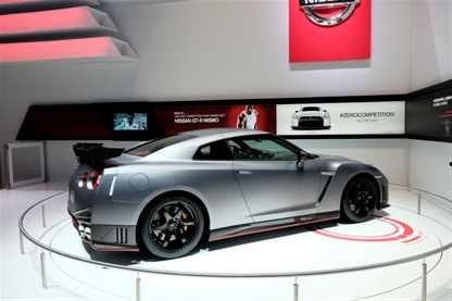 GT-R Nismo at the Geneva Motor Show 2014