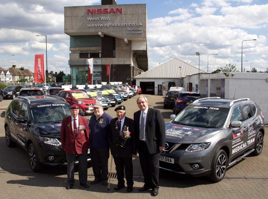 D Day Veterans at West Way Nissan Mill Hill