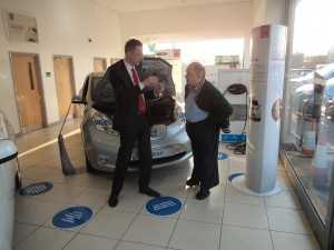 Our Electric Vehicle Specialists were on hand to provide personal and detailed offers and test drives.