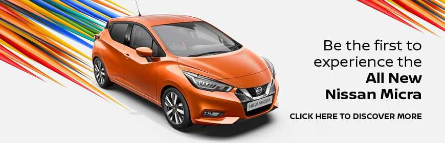 Register Your Interest in the All New Nissan Micra