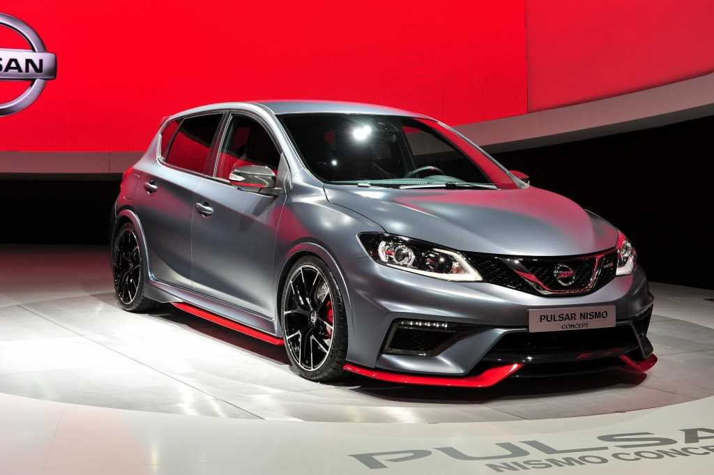 The Nissan Pulsar Nismo at the Paris Motor Show