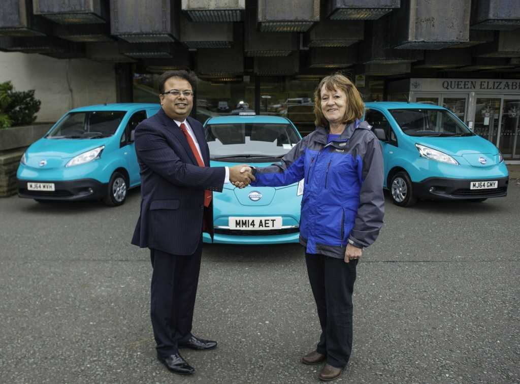 Oldham Council Goes Green With West Way Nissan