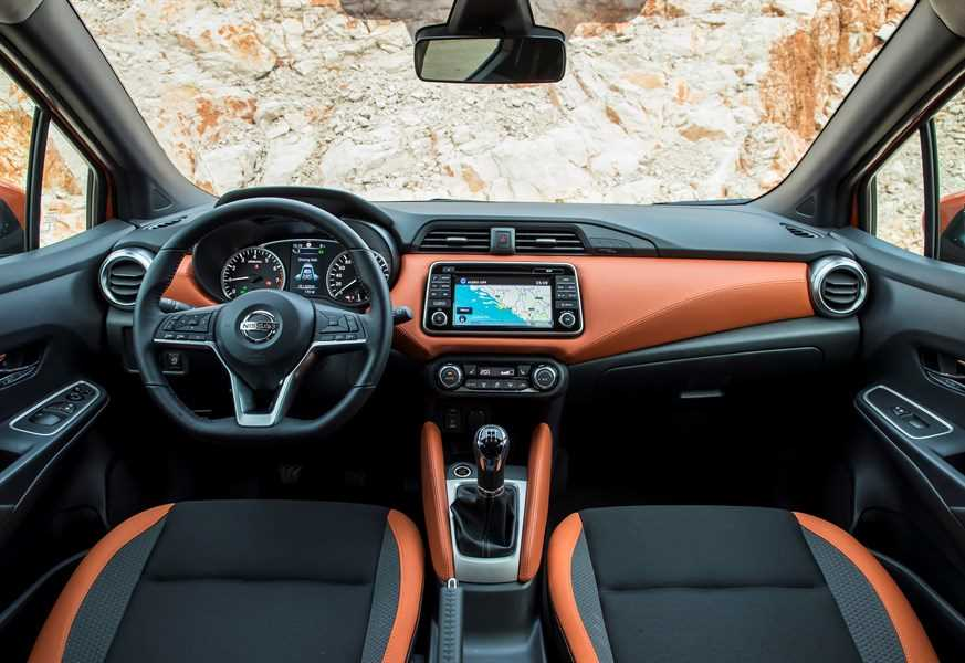 All New Nissan Micra - Orange Interior