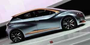 The new Sway concept - 2015 at West Way Nissan