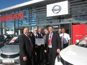 Two of our dealerships awards - 2015 at West Way Nissan