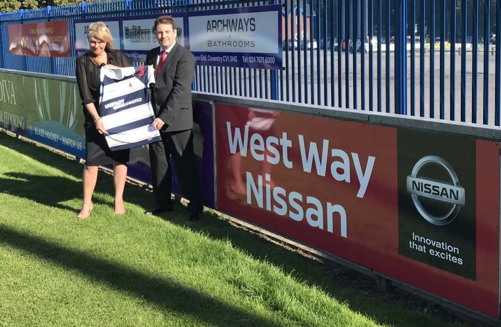 West Way Partner With Coventry Rugby Club