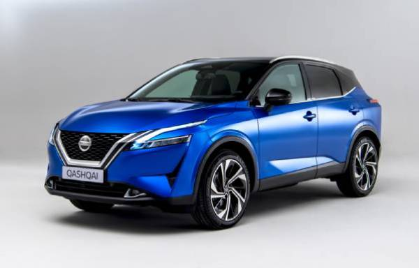 all-new nissan qashqai front view