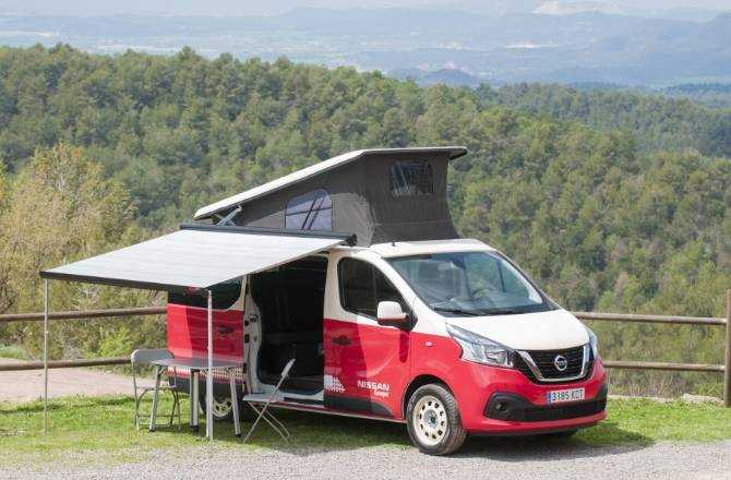 Nissan Camper Vans Are Made For Adventure