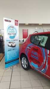west way nissan showroom leaf