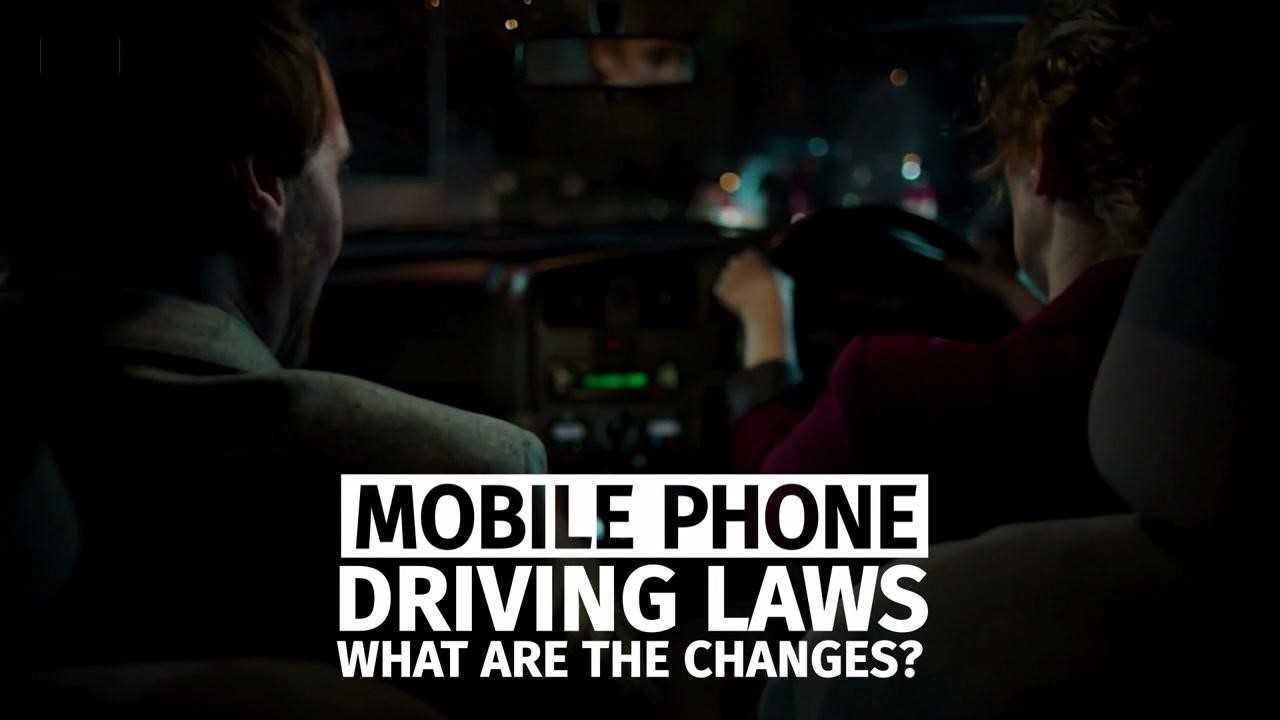 Mobile phone driving laws