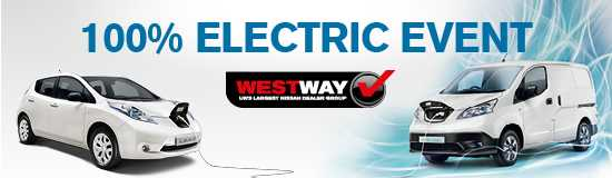 West Way Nissan Enjoys 100% Electric Event
