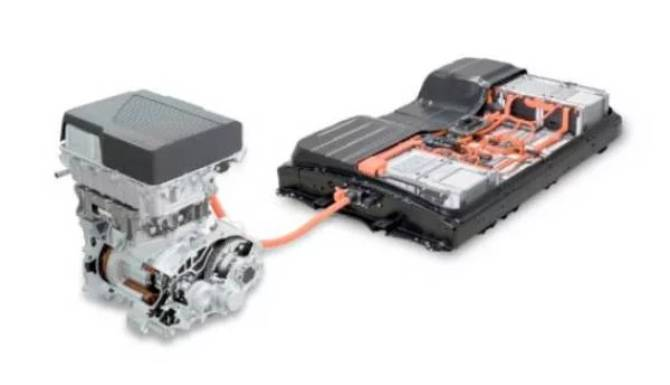 Electric motor and battery