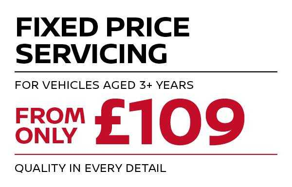 Fixed price Servicing - 3+ years