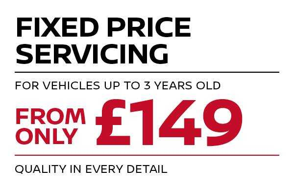 Fixed price Servicing - up to 3 years