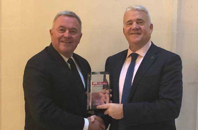 West Way Presented with Nissans Highest Worldwide Honour