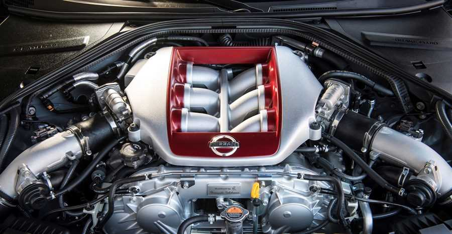 MY17 Nissan GT-R Engine