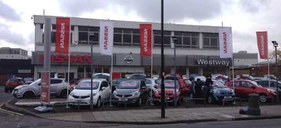 West Way Nissan's new London dealership Hanwell