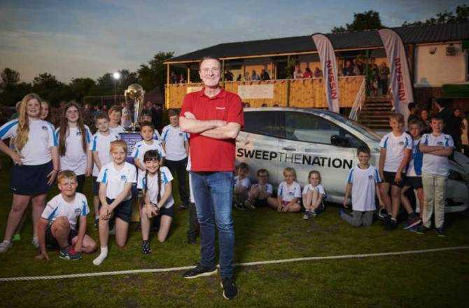 Nissan brings sustainable energy power play to 150-year-old community cricket club