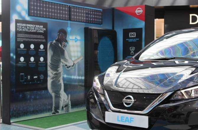 Nissan LEAF to undertake 100% electric, 100-day ICC Cricket World Cup Trophy Tour