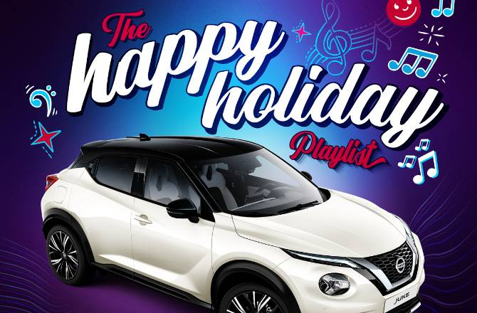 Nissan JUKE beats the winter blues with The Happy Holiday Playlist