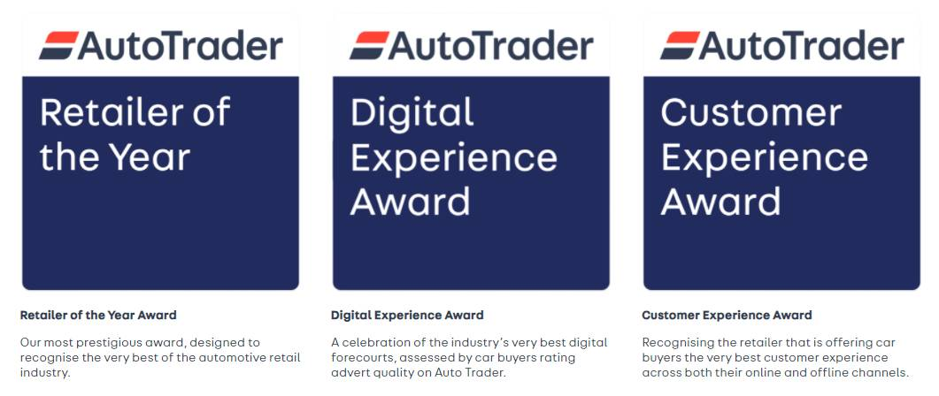 West Way are Finalists at the AutoTrader Retailer Awards 2021