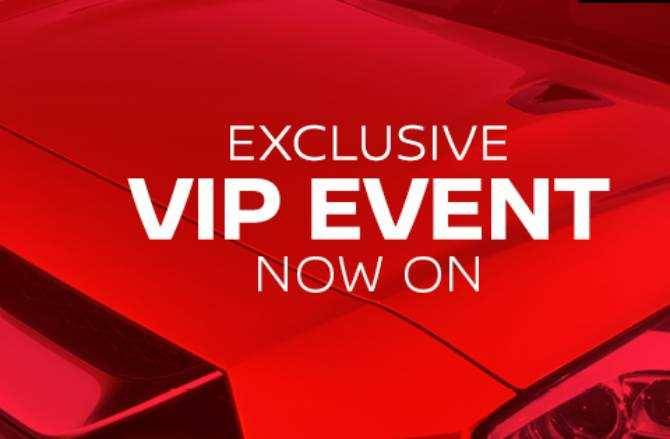 Our VIP Event is back....