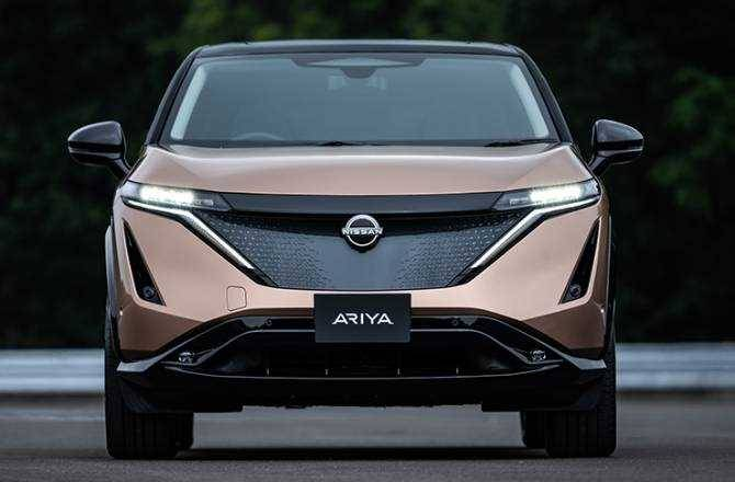 Nissan introduces the Ariya the fully electric crossover