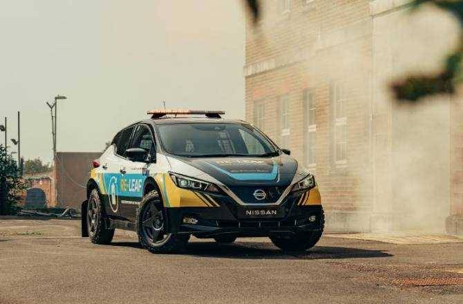 Nissan RE-LEAF: Power when it's needed, where it's needed