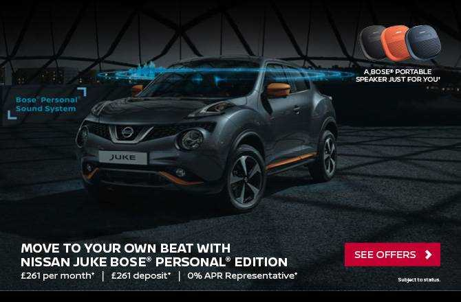 Free Bose Portable Speaker with the Nissan Juke - Limited Time Offer