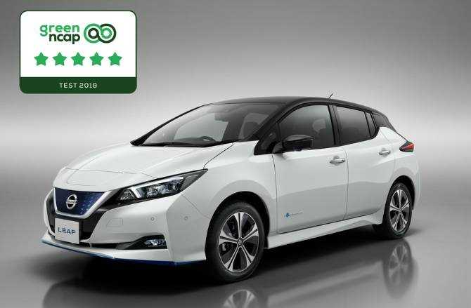 Nissan LEAF's class-leading environmental credentials recognised with five-star Green NCAP rating