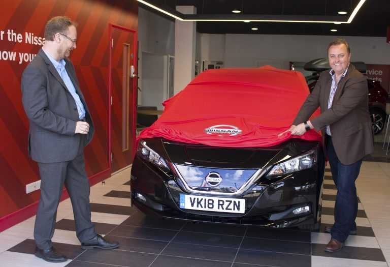 Prize-Winner Ian's Nissan LEAF Is The Perfect Partner For Busy Life