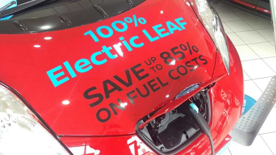 save 85% on fuel with the leaf