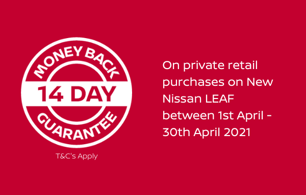 14-day money back guarantee available on New Leaf between 1st - 30th April 2021