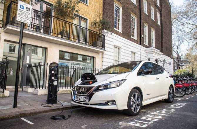 Electric car charging stations surpass number of fuel stations in less than 100 years since UK's first petrol pump installed