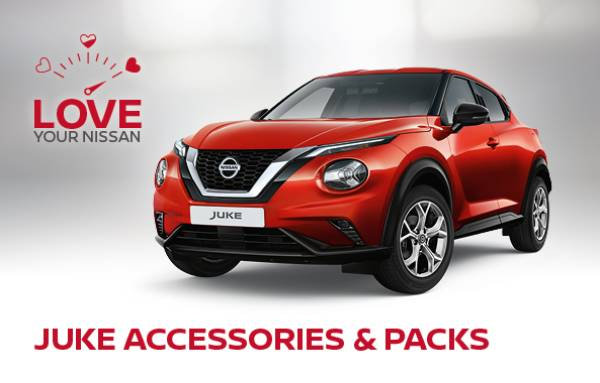 Love Your New Juke Nissan Accessories